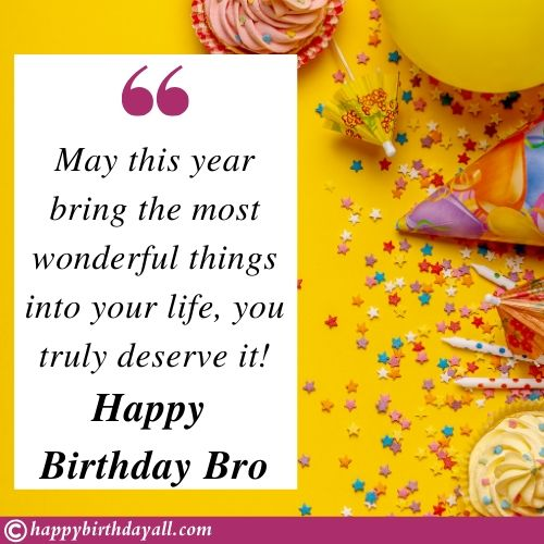 Birthday Messages for Elder Brother