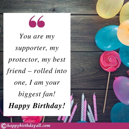 Top Birthday Wishes Quotes for brother