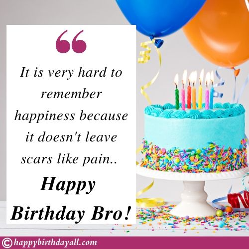Best Birthday Wishes Quotes for Brother