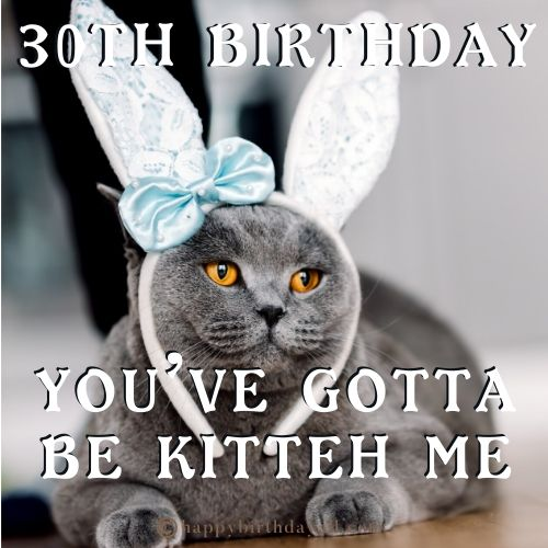 30th Birthday Memes for Her