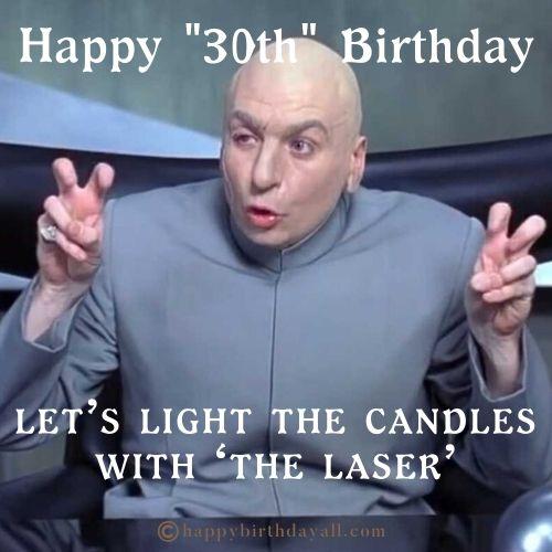funny 30th Birthday Memes