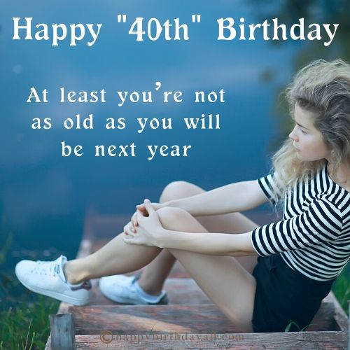 Funny 40th Birthday Memes for Her
