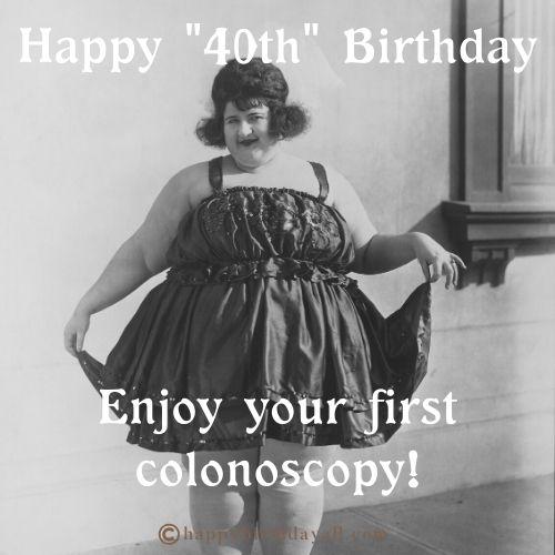 40th Happy Birthday Memes