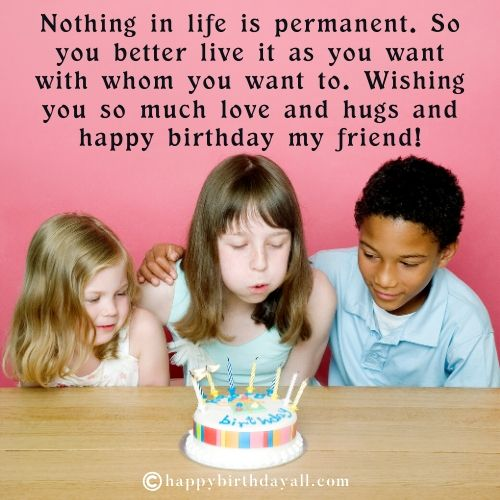 Happy Birthday Messages for Childhood Friend
