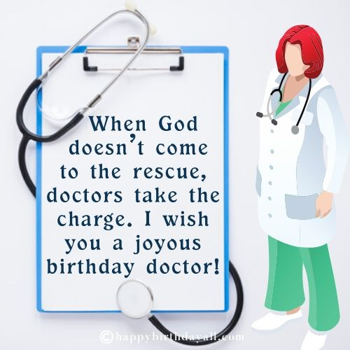 Inspirational Happy Birthday Messages for Doctors with Images