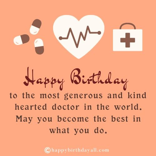 Emotional Happy Birthday Quotes for Doctor