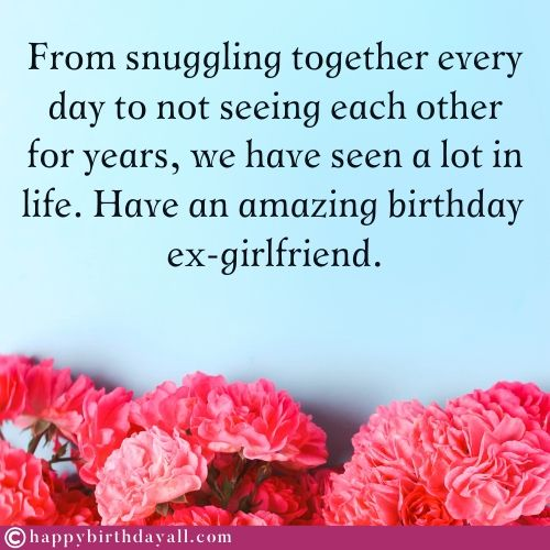 Most Funny Happy Birthday Wishes for Ex Girlfriend