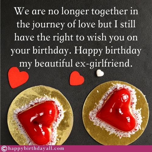 Best Emotional Birthday Wishes for Ex Girlfriend
