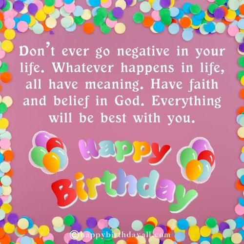 Happy Birthday Messages for Facebook status
