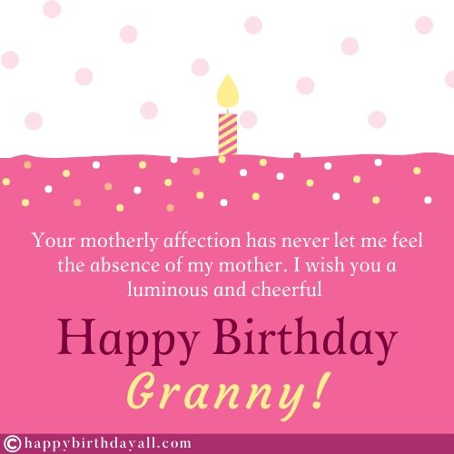 Best Happy Birthday Messages for Grandmother
