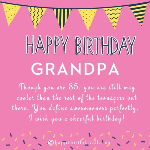 Best Birthday Quotes for Grandpa