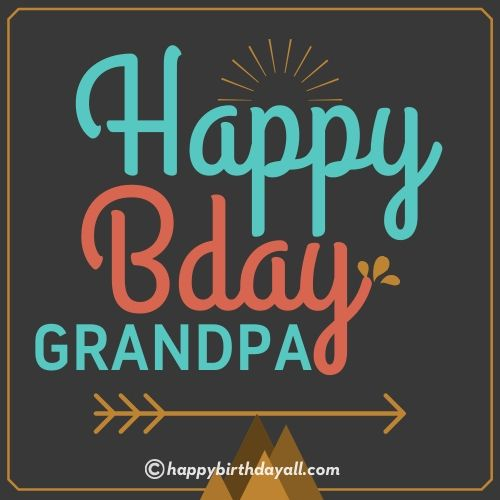 Happy Birthday Quotes for Grandfather