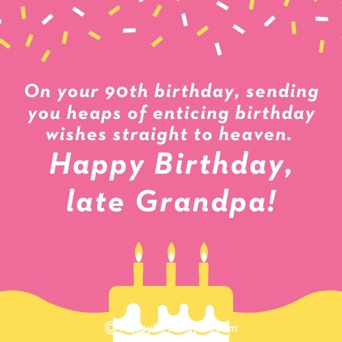 Happy Birthday Quotes for Late Grandfather