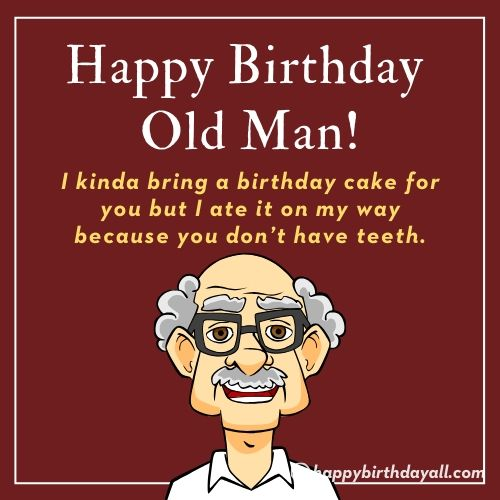 Funny Birthday Messages for Grandfather