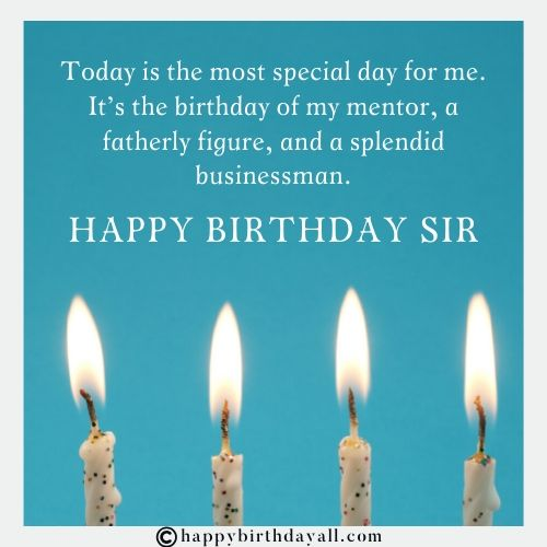 Inspiring Birthday Wishes for Mentor With Images