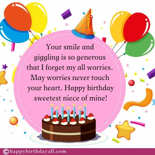 Happy Birthday Wishes For Niece Birthday Niece Quotes With Images
