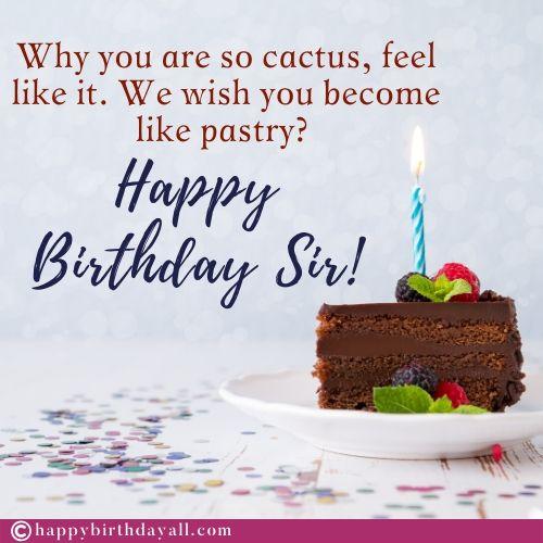 Funny Birthday Images for Teacher