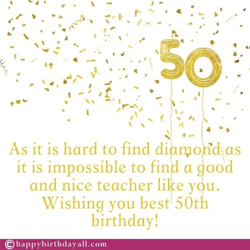 Best Birthday Wishes Messages for Teacher