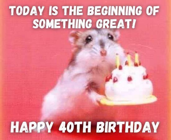 Funny 40th Birthday Memes