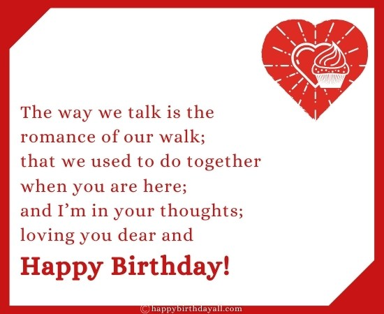 Romantic Birthday Messages for Boyfriend Long Distance