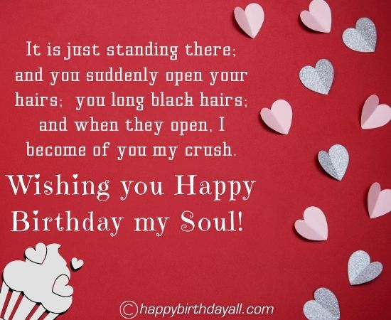 Happy Birthday Messages for Crush