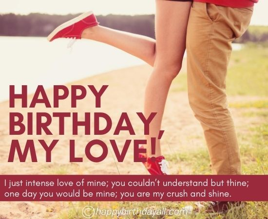 Birthday Wishes for Crush -  Woman