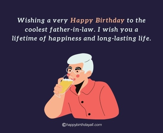 Happy Birthday Wishes for Father-in-Law from Daughter-in-law
