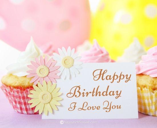 happy birthday, i love you