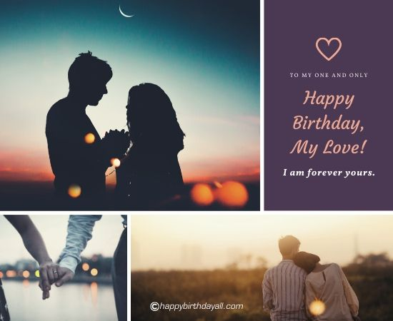 happy birthday my love! i am forever yours.