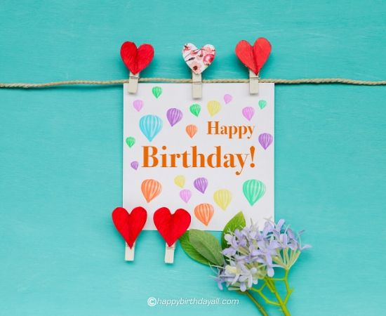 Romantic Happy Birthday Images for girlfriend