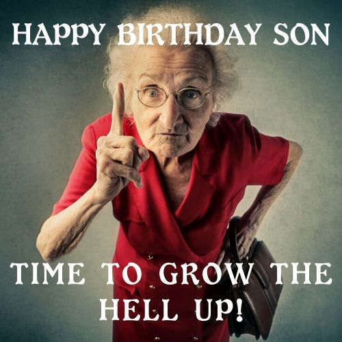 happy birthday meme for son