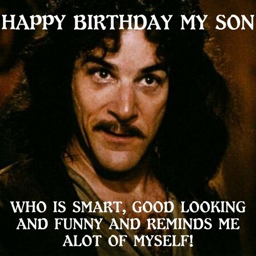 funny birthday memes for my son