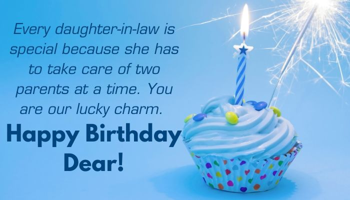 Special Birthday Wishes for Daughter-in-law