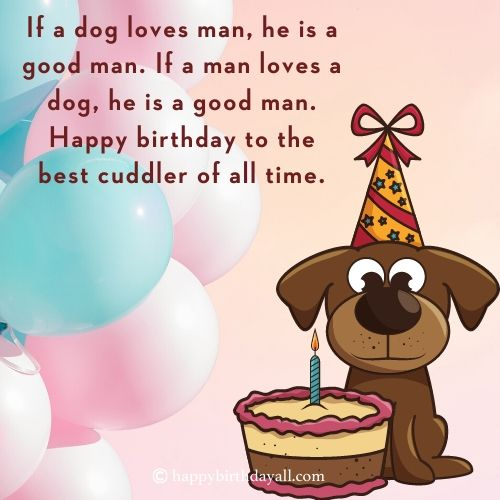 inspirational Birthday Quotes for Dogs