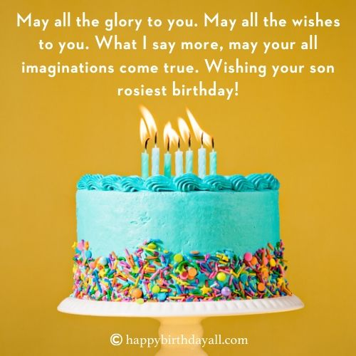 Happy Birthday Quotes for Best Friend Son