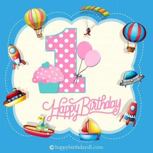 Happy 1st Birthday Image