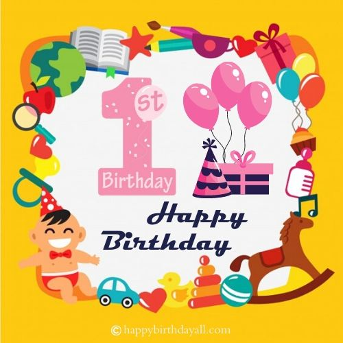 First Birthday Quotes for Boy