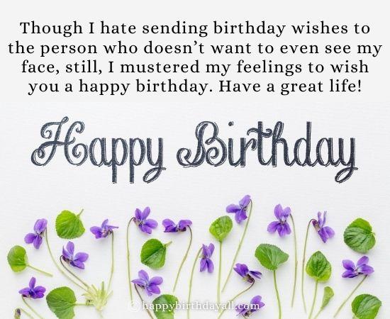 Heart-Touching Happy Birthday Wishes for Ex Boyfriend