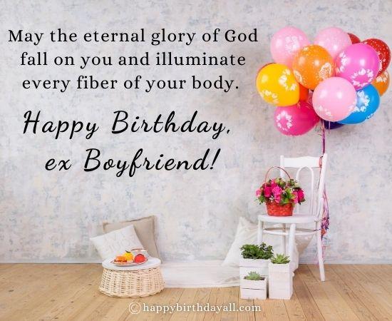 Happy Birthday Quotes for Ex-Boyfriend
