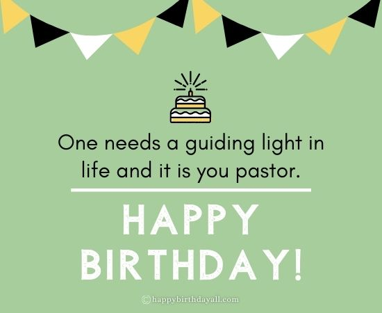 Birthday Quotes for Pastor