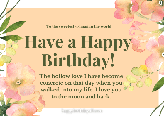 Inspirational Birthday Quotes for Girlfriend