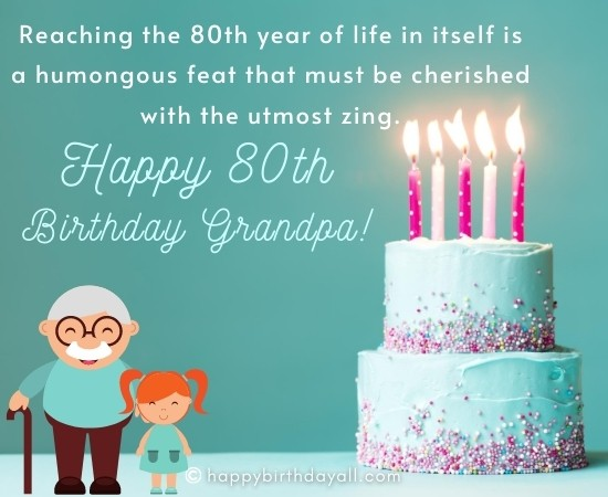 Best Happy 80th Birthday Wishes