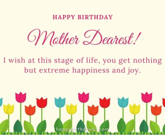 Happy 80th Birthday Messages for Mom