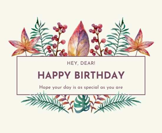 happy birthday flower images