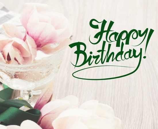 happy birthday flower Pictures