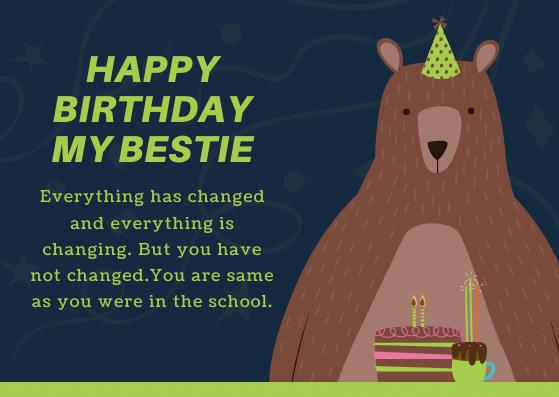 Happy Birthday Wishes for Classmate Boy
