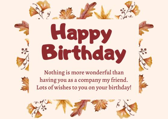 Birthday Wishes for Senior/ Elderly Friend
