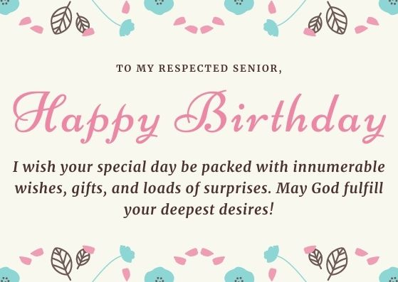 Happy Birthday Wishes for Seniors | Best Birthday Messages for Elders