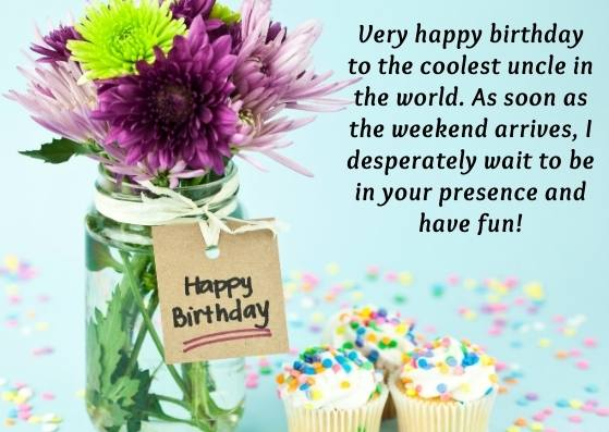 Awesome Happy Birthday Wishes for Uncle with Images