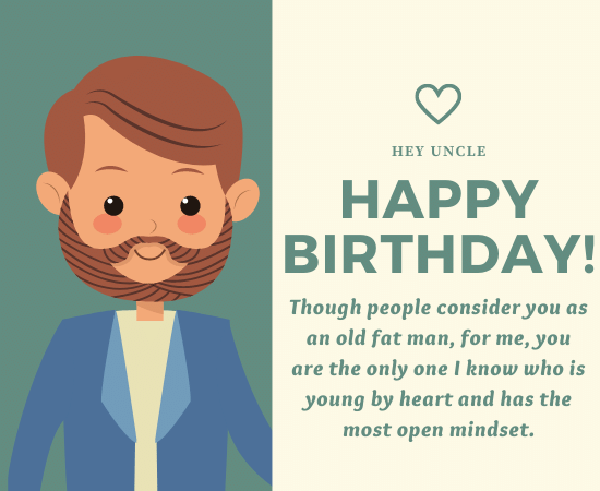 Best Happy Birthday Messages for Uncle
